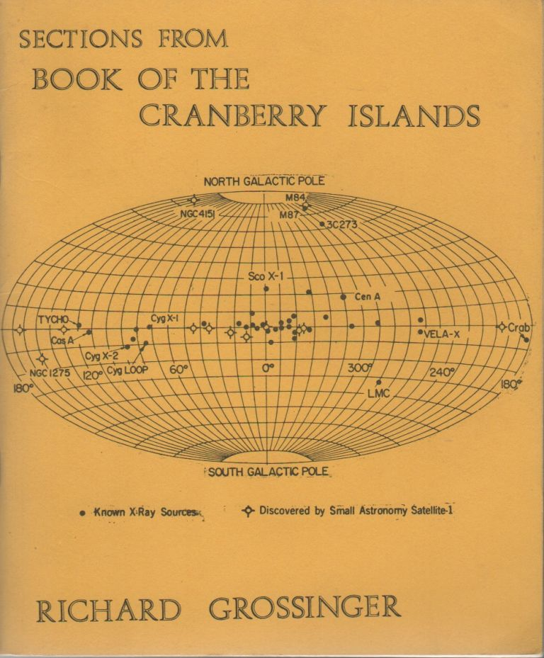 SECTIONS FROM BOOK OF THE CRANBERRY ISLANDS [WIth TLS, Typed Postcard, and Promotional Ephemera]. Richard GROSSINGER.