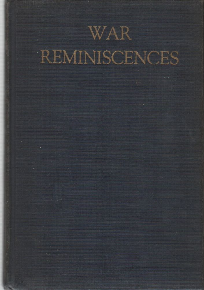 WAR REMINISCENCES. Howard Edward BAKER.