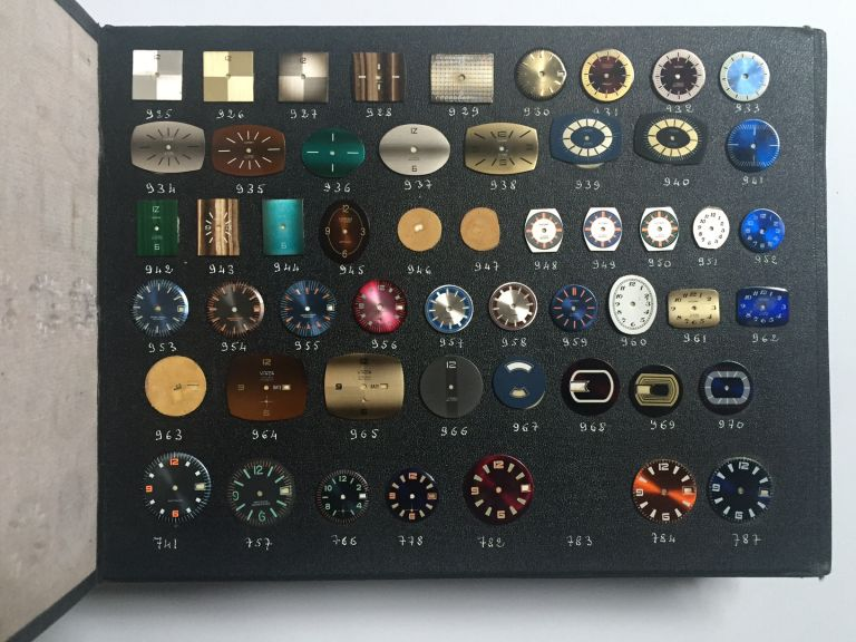 [Salesman's Sample Book of Watch Faces]. Design, Watches.