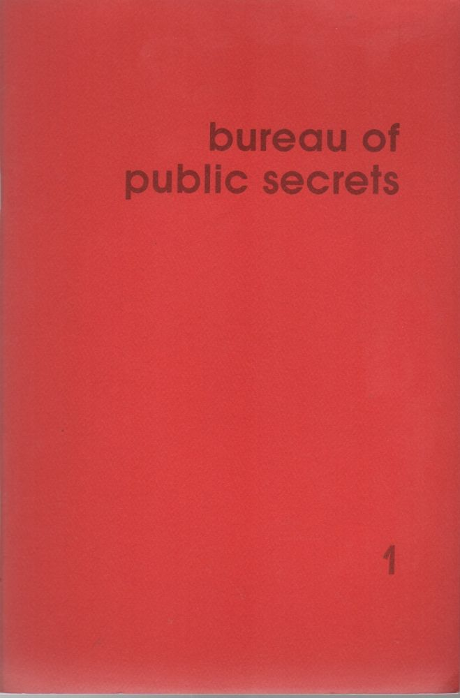 BUREAU OF PUBLIC SECRETS 1 – January 1976. Ken KNABB.