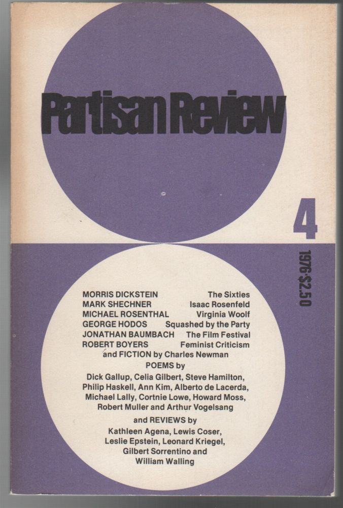 PARTISAN REVIEW - Vol. XLIII - No. 4 - 1976. William PHILLIPS.