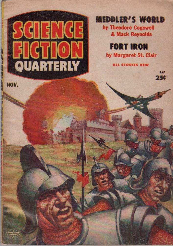 SCIENCE FICTION QUARTERLY - Vol. 4 No. 1 - November 1955. Robert W. LOWNDES.
