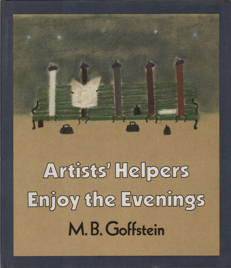 ARTISTS' HELPERS ENJOY THE EVENINGS. M. B. GOFFSTEIN.