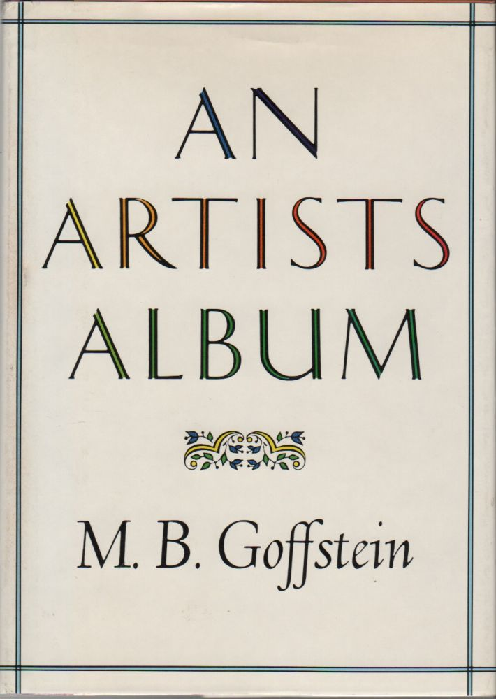 AN ARTISTS ALBUM. M. B. GOFFSTEIN.