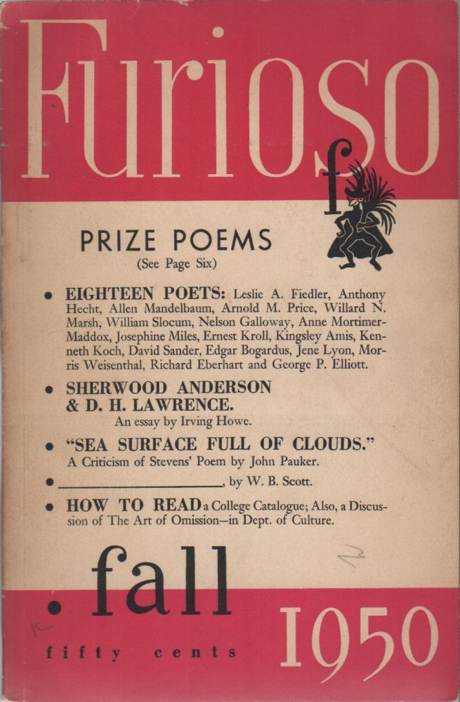 FURIOSO - Vol. 5 No. 4 - Fall 1950. Reed WHITTEMORE.