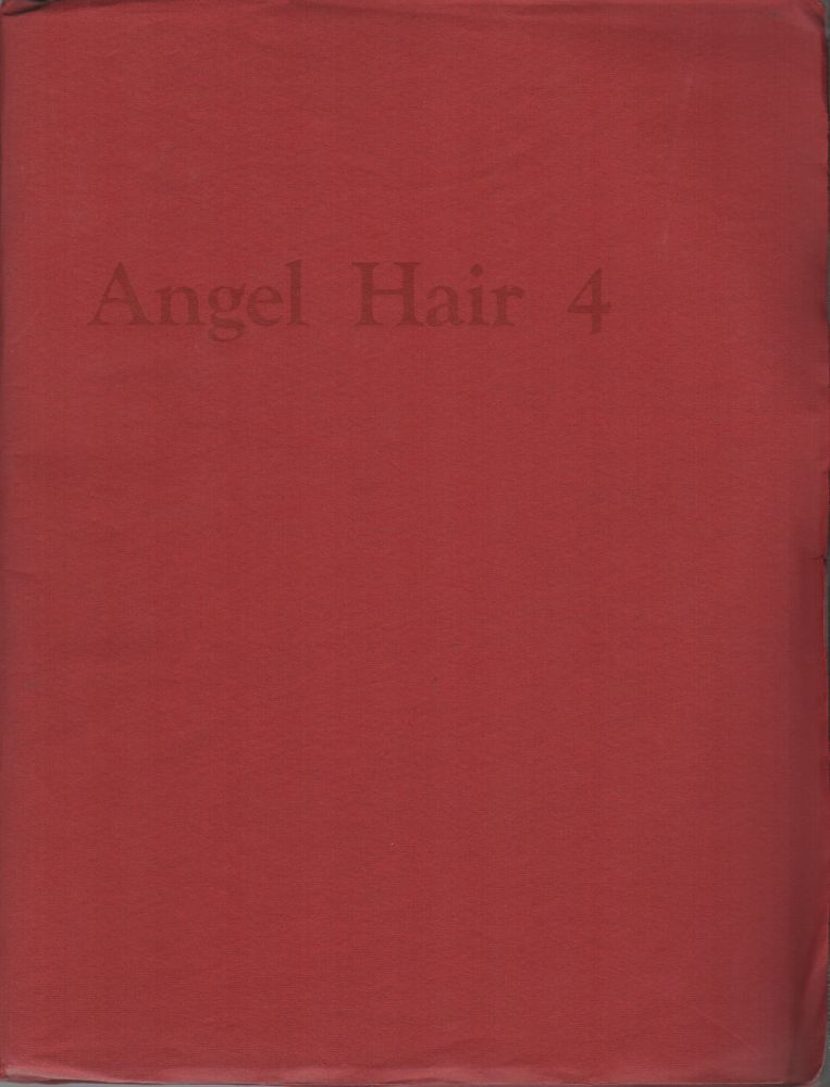 ANGEL HAIR 4. Anne WALDMAN, Lewis Warsh.