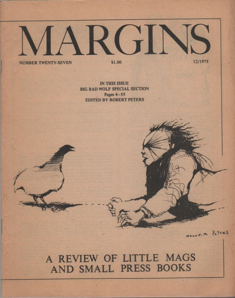 MARGINS: A Review of Little Magazines & Small Press Books - Number Twenty-Seven [27]. Tom MONTAG.