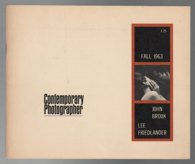CONTEMPORARY PHOTOGRAPHER - FALL 1963 VOL IV NO. 4. Lee LOCKWOOD.