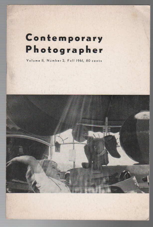 CONTEMPORARY PHOTOGRAPHER - Vol. II No. 2 Fall 1961. Donald Wright PATTERSON.