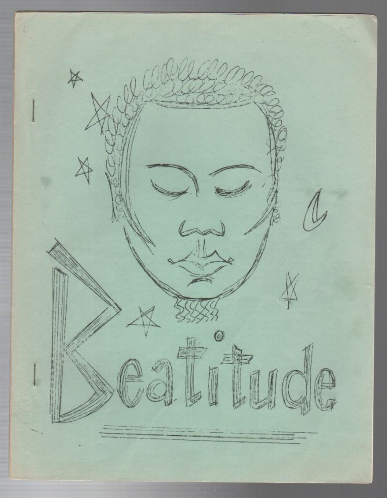 BEATITUDE #8 (August 15, 1959). Beat Literature, Mimeo Revolution.