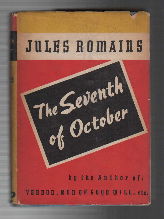 THE SEVENTH OF OCTOBER. Jules ROMAINS.
