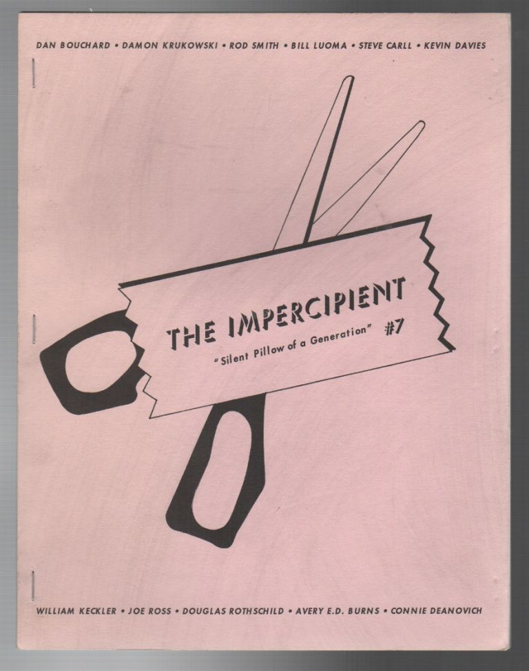 THE IMPERCIPIENT #7 / JUNE 1995. Jennifer MOXLEY.