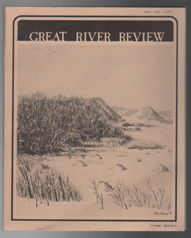 GREAT RIVER REVIEW: Volume 1, Number 2. Emilio DEGRAZIA.