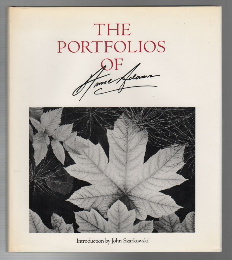 THE PORTFOLIOS OF ANSEL ADAMS. Ansel ADAMS, John Szarkowski.