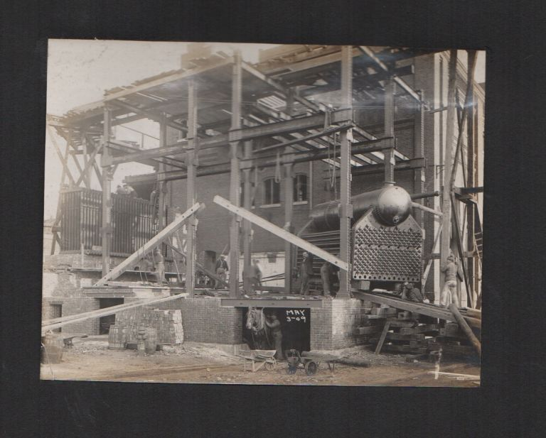 [Original Photo Album of a Sugar Refinery Construction]. Photography, Federal Sugar Refining Company of Yonkers.