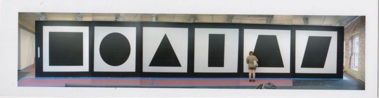 [85 Photographs of Sol LeWitt Wall Drawings 343 and 146 Installation]. Sol LeWitt, Chris COBB, Photographer.