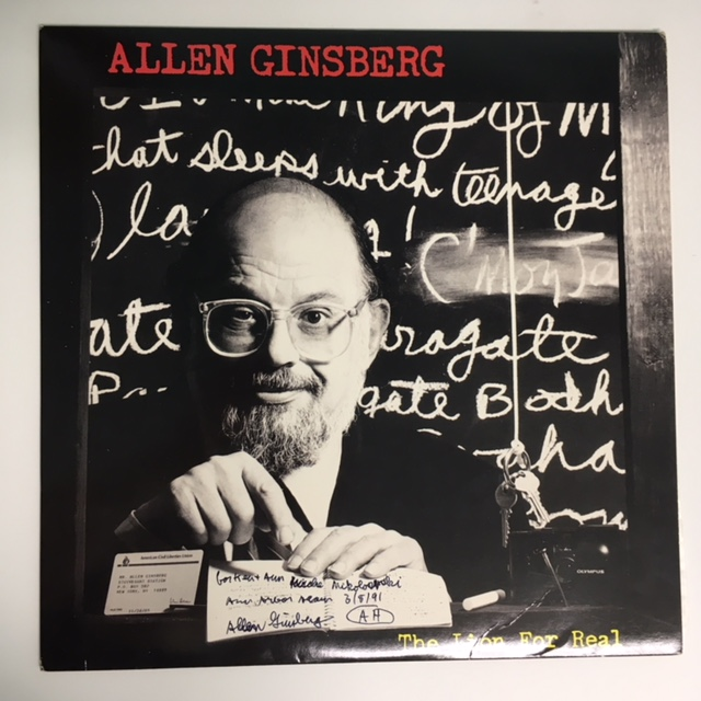 THE LION FOR REAL. Allen GINSBERG.