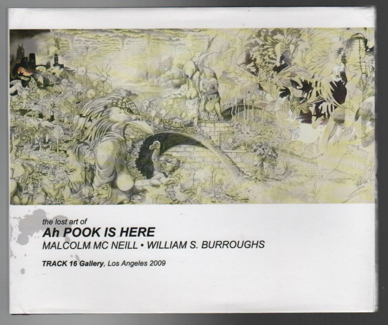 THE LOST ART OF AH POOK IS HERE / OBSERVED WHILE FALLING: Bill Burroughs, Ah Pook, and Me / THE LOST ART OF AH POOK IS HERE: Images from the Graphic Novel [Set of 3 volumes and puzzle]. Malcolm MCNEILL, William S. Burroughs.