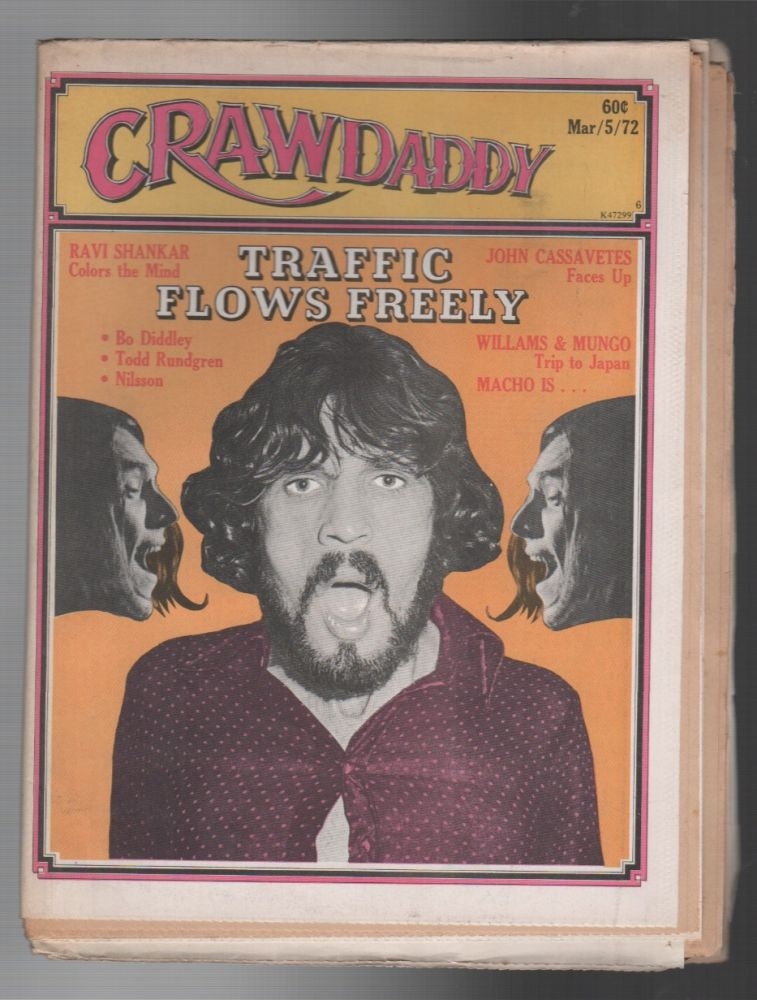 CRAWDADDY / Issue 6, March 1972. Raeanne RUBENSTEIN.