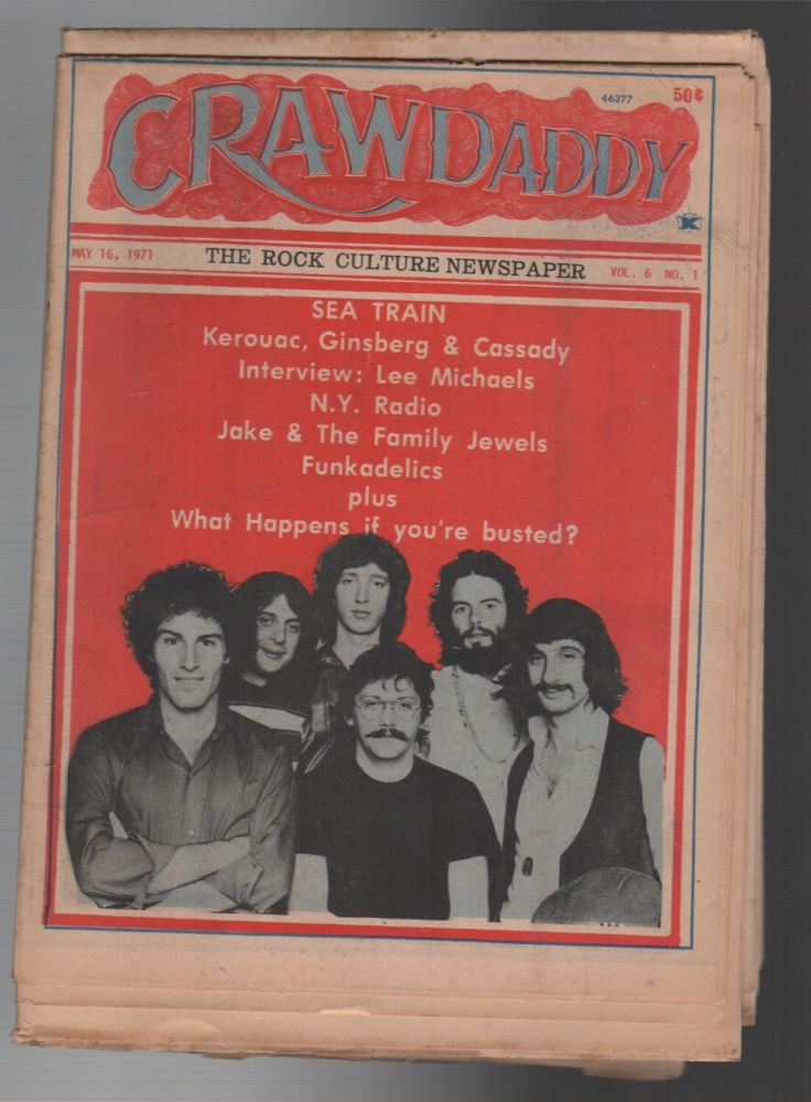 CRAWDADDY / Vol. 6, No. 1 / May 16, 1971. Peter STAFFORD.