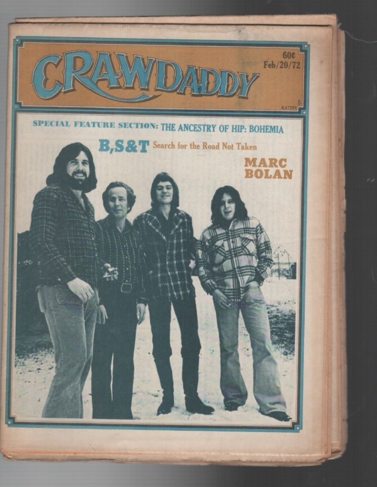 CRAWDADDY: Issue 5 / February 20, 1972. Raeanne Rubenstein.