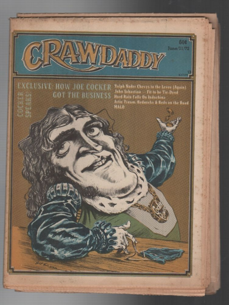 CRAWDADDY: Issue 13 / June 11, 1972. Raeanne Rubenstein.
