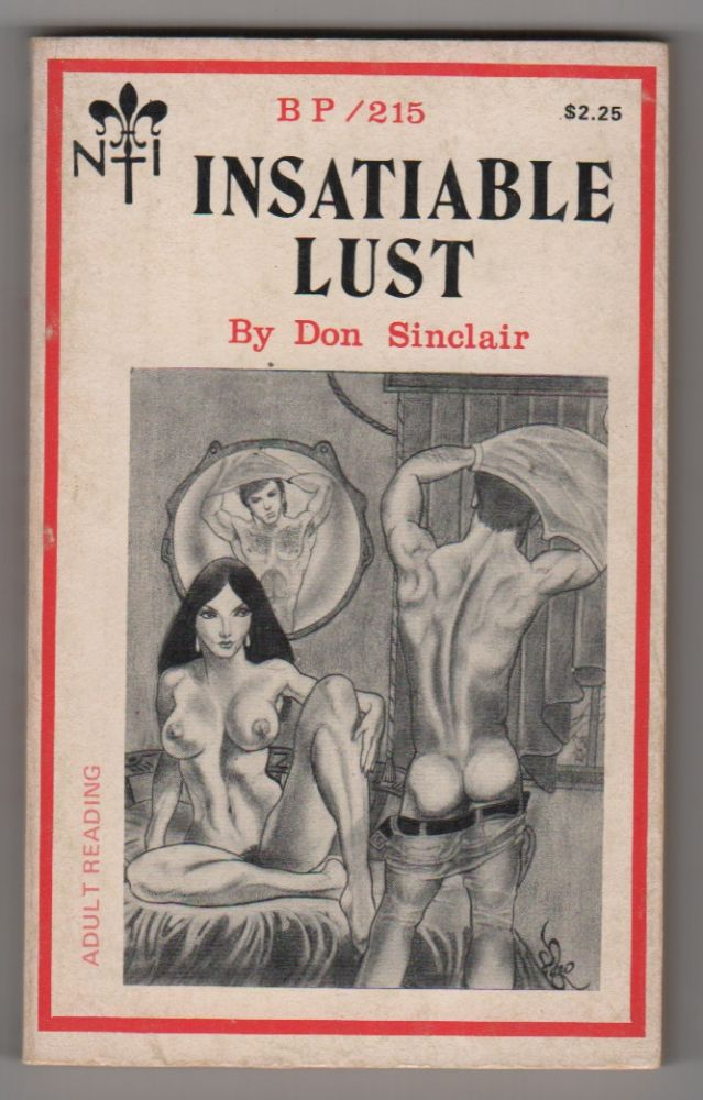 INSATIABLE LUST. Don SINCLAIR.