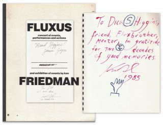 FLUXUS: concert of events, performances and actions and exhibition of events by ken FRIEDMAN...