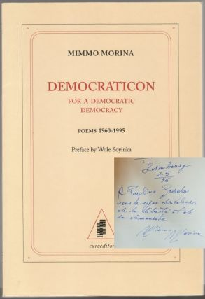 DEMOCRATICON: For A Democratic Democracy, Poems 1960-1995