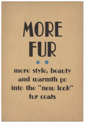 [Collection of Seventeen In-Store Signs from a Furrier]