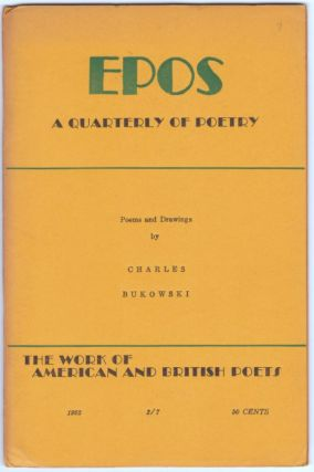 POEMS AND DRAWINGS [in] EPOS: A Quarterly of Poetry (Extra Issue 1962)