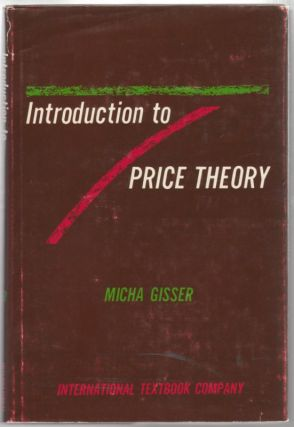 Introduction to Price Theory