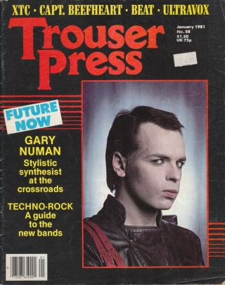 TROUSER PRESS #58 - January 1981 (Volume Seven, Number Twelve