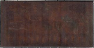 Original Photographic Copper Printing Plate of the House of David Baseball Team]. Baseball