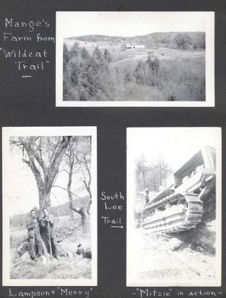 [Personal Photo Albums of a Civilian Conservation Corps Member, ca. 1937-1939]