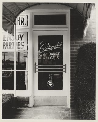 Photo Album Scrapbook of The Continental Dance Club]. Business, Dance Clubs