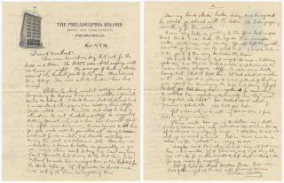 [Archive of Correspondence Between Morris and Dorothy Glazer]