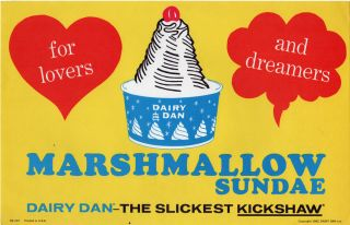 [Archive of Signage for Dairy Dan Ice Cream Truck Franchise]