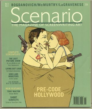 SCENARIO: The Magazine of Screenwriting Art; Volume 4, Number 4