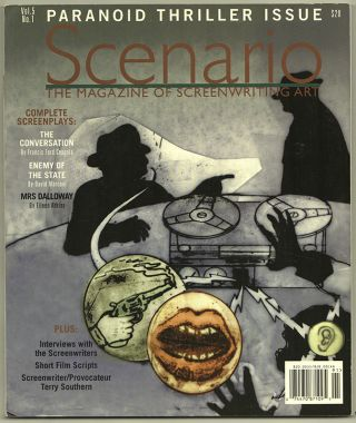 SCENARIO: The Magazine of Screenwriting Art; Volume 5, Number 1. Film
