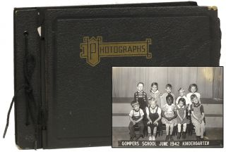 Original Photograph Album of Children with Polio]. Photography, Polio