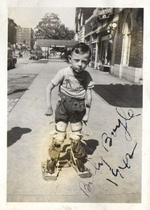 [Original Photograph Album of Children with Polio]