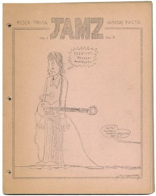 JAMZ Vol. 1, No. 5. Alan BETROCK