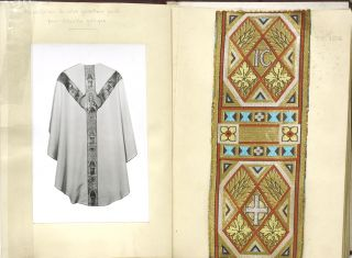 [Salesman's Sample Book of Sacramental Vestment Textiles]
