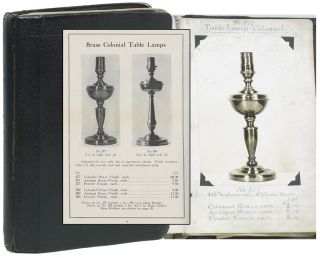 Manuscript Photo Catalogue of Light Fixture Manufacturer