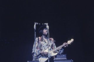 [Collection of Color Transparency Slides of Jimi Hendrix]
