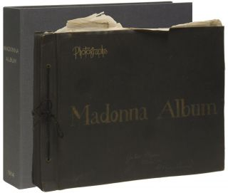 MADONNA ALBUM [Cover Title]. [Original Scrapbook Album