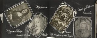 MADONNA ALBUM [Cover Title]. [Original Scrapbook Album]