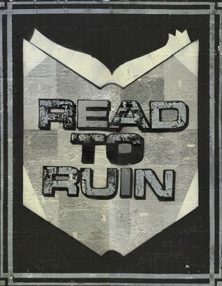 READ TO RUIN [Original Artwork