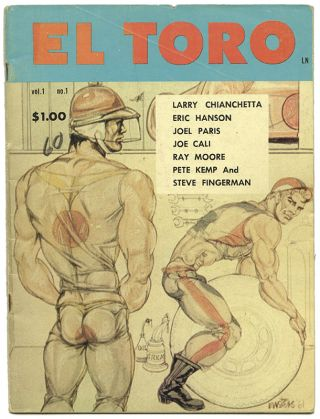 EL TORO: Vol. 1, No. 1. Gay Interest, Physique Photography